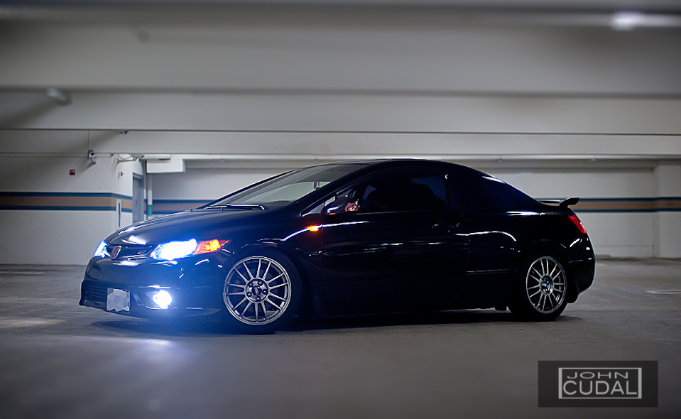 Honda Civic Si John Cudal Photography