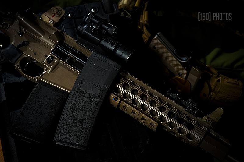 tactical photographer, stippled magazines, ar15 photography, weapon photographer, product photos